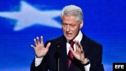 El expresidente estadounidense Bill Clinton.