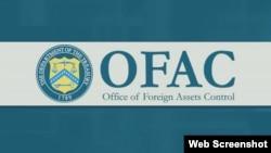 Logo de la Oficina de Control de Activos Extranjeros del Departamento del Tesoro de EEUU.