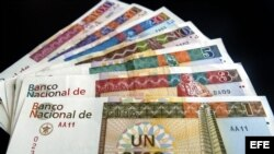 Moneda cubana (conocida por chavito)