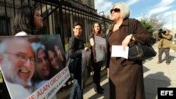 Judy Gross pide la libertad de Alan Gross