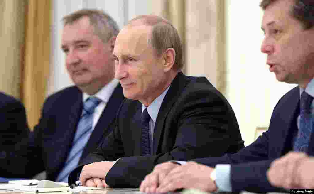 Putin durante el encuentro con Raúl Castro