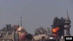 Supuesto ataque con armas químicas deja 25 muertos en Siria