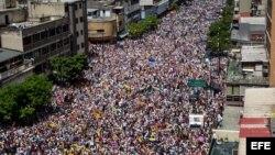 """Reporte especial sobre """"La Toma de Caracas"""""""