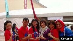 Delegación de las bibliotecas de Taiwán.
