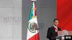 El mandatario de México, Enrique Peña Nieto. Archivo.