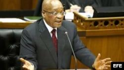 Presidente de Sudáfrica, Jacob Zuma.