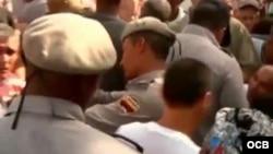 Represión en reparto Vista Hermosa Santiago de Cuba