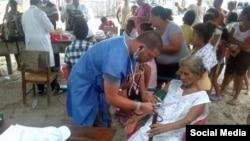 Médicos cubanos en Ecuador. Foto: Perfil en Facebook del doctor Enmanuel Vigil