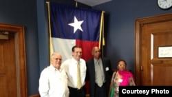 Guillermo Fariñas y Elizardo Sánchez en Washington D.C.