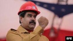"""Nicolás Maduro ha prometido """"puño de hierro"""" contra quienes conspiren contra su Gobierno."""
