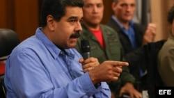 El presidente venezolano, Nicolás Maduro. EFE