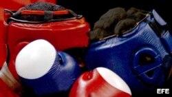 Boxeadores cubanos