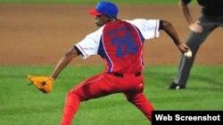 Raciel Iglesias Tope Cuba vs EEEUU julio 2013