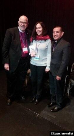 Mariela Castro recibe el Premio Be Justice en Canadá.