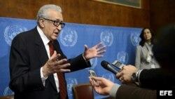 Enviado especial de la Liga Arabe y la ONU para Siria, Lajdar Brahimi.