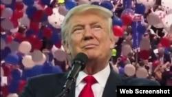 El presidente electo número 45