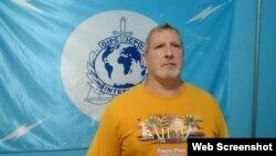Eliécer Fuentes Valdéz, cubano apresado en Santo Domingo por agentes de la Interpol.
