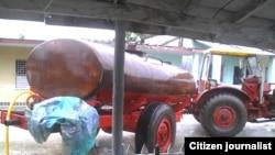 Reporta Cuba Escasez de agua en Cabaiguán Foto José R Borges