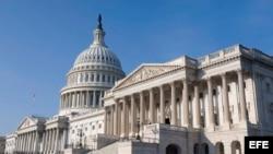Vista del edificio del Capitolio en Washington.