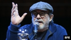 El cantautor cubano Silvio Rodríguez.