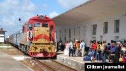 Reporta Cuba. Trenes.