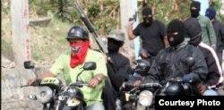 """Los llamados """"colectivos"""" actúan como paramilitares al servicio del chavismo."""