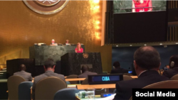 Samantha Power en Naciones Unidas.Tomado de US Mission to the UN @USUN.