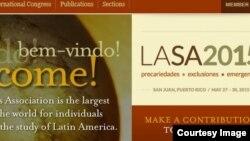 LASA, el congreso de académicos latinoamericanos organizado por universidades norteamericanas, en su 33 edición desde San Juan, Puerto Rico