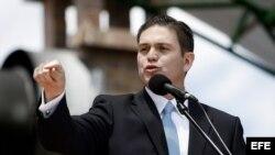 El ministro de Defensa de Colombia, Juan Carlos Pinzón.