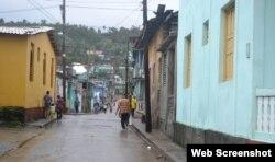 Baracoa tras 24 horas de lluvias intensas. (Facebook/Radio Baracoa)