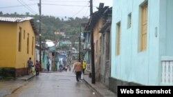 Las calles de Baracoa se inundan fácilmente tras períodos de lluvias intensas o tormentas.