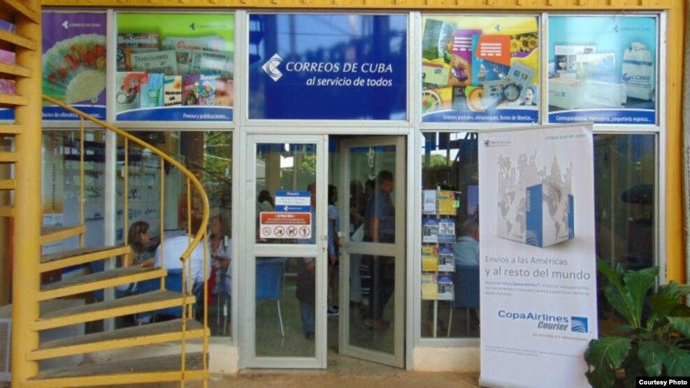 Correos de Cuba.