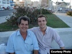 Oswaldo Paya y el diputado Pablo Casado Blanco