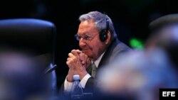 Raúl Castro, participa en la sesión plenaria de la II Cumbre de la Comunidad de Estados Latinoamericanos y Caribeños (Celac).