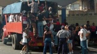 La crítica situación del transporte público en Cuba