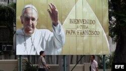 Cuba a la espera del Papa Francisco