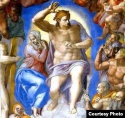 El Jesús del Juicio Final que Miguel Ángel plasmó en la Capilla Sixtina.