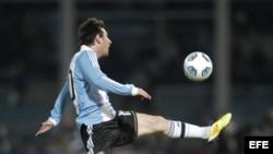 El jugador de fútbol argentino, Lionel Messi. Fotografía de archivo.