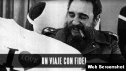 """Imagen del documental """"Un viaje con Fidel"""" de CNN en español."""