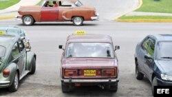 Taxis particular en La Habana