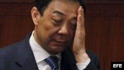 El político chino Bo Xilai, en Pekín, China, el 09 de marzo de 2012.