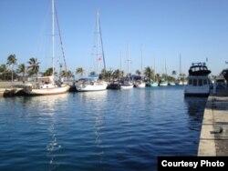 La Marina Hemingway en Santa Fe es la más conocida de unas seis que existen en Cuba.