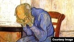 El anciano afligido - Vincent van Gogh (1853-1890).
