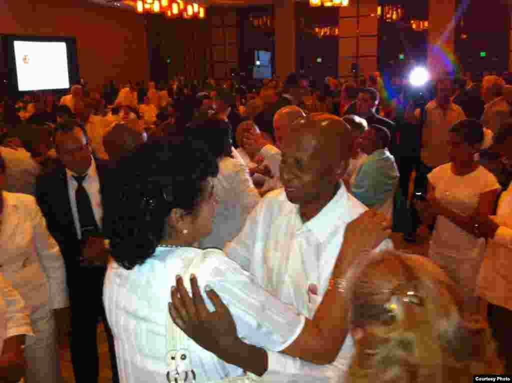Guillermo Fariñas y Berta Soler