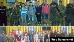 Honduras retuvo este miércoles a 38 cubanos.