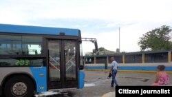 Reporta Cuba Omnibus Foto Bárbara Fernández