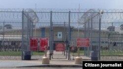 Un centro de detención de migrantes ilegales en el este de Texas (Detention Watch Network)