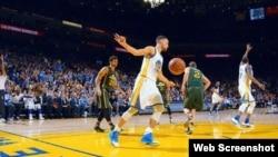 Warriors vs Jazz.