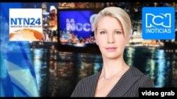 La directora de noticias de RCN, Claudia Gurisatti.