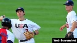 Cuba pierde frente a equipo de béisbol de EE.UU.